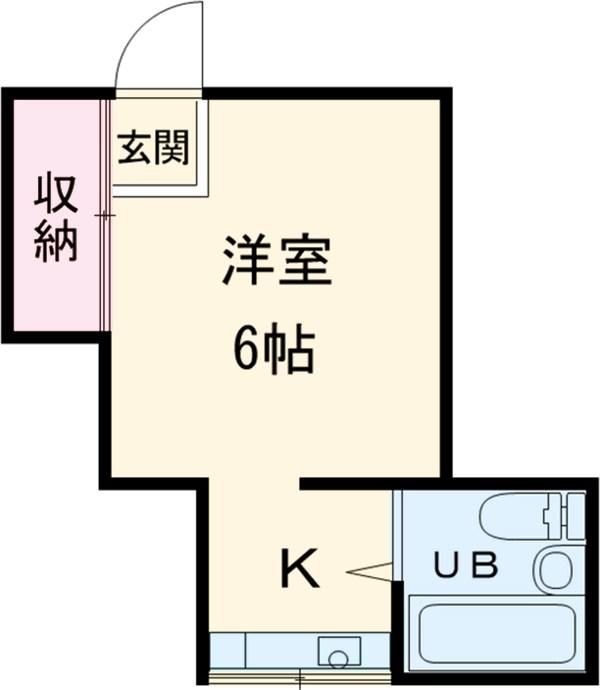 TOSHIハウス 204号室の間取り