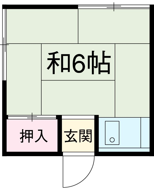 森永アパート 207号室の間取り
