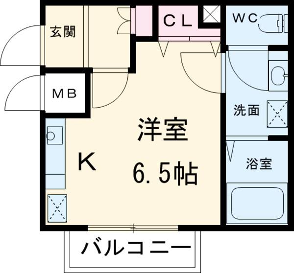 One's Stage大宮高鼻町Ⅱ 302号室の間取り