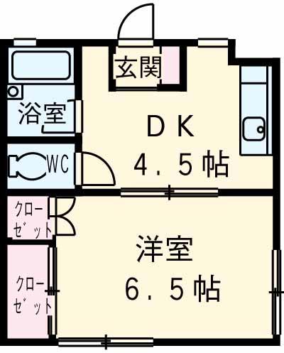 MATSUMOTO 102号室の間取り