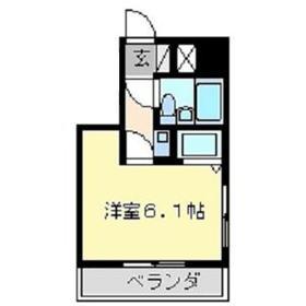 パレ・ドール八王子Ⅲ 201号室の間取り