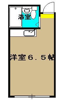 メゾン森 302号室の間取り