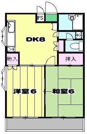 NK上尾ビル 301号室の間取り