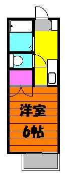 SHIMAZAKIハイツ 101号室の間取り
