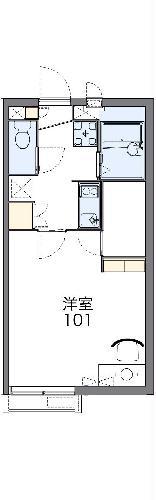 レオネクスト泉 103号室の間取り