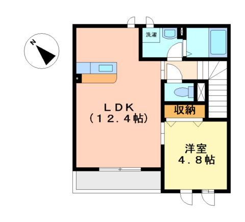 Epoch・K 00201号室の間取り