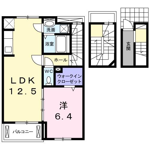 ボナール レジデンス中央 03020号室の間取り