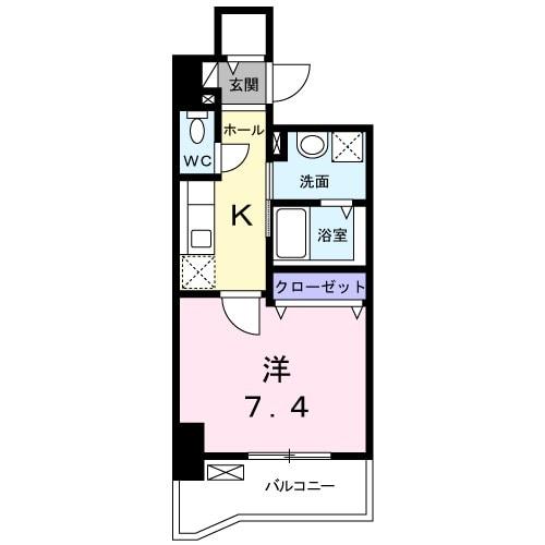 豊田4丁目店舗付マンション 02020号室の間取り