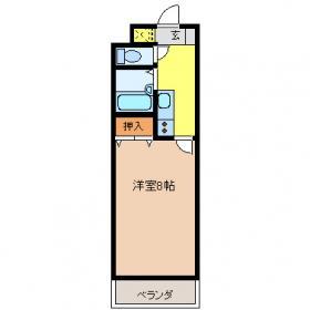 コンフォート・ナカハラ 402号室の間取り