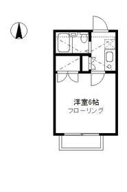 リレイション杉田Ⅱ 202号室の間取り