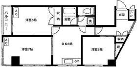 セブンスターマンション第1青葉台 703号室の間取り
