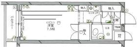 ワコーレ武蔵浦和 406号室の間取り