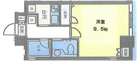 AXIS桜木町 406号室の間取り