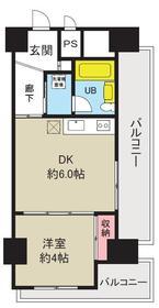 上野毛マンシオン 401号室の間取り