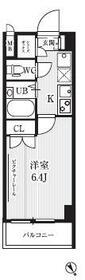 HF武蔵小山レジデンス 0607号室の間取り