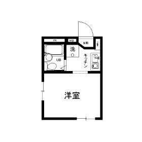リンクルストーンYOSHIMI 305号室の間取り