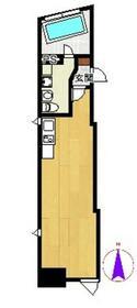 クーヴェラ三宿 201号室の間取り