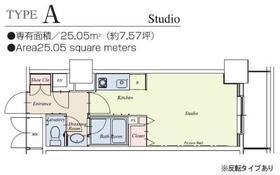 HF駒沢公園レジデンスTOWER 2902号室の間取り