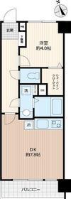 横浜スカイマンション 304号室の間取り