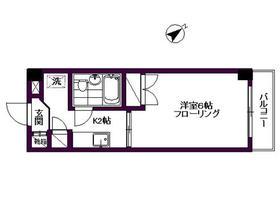 ハナブサマンション 402号室の間取り
