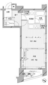 デュオ・スカーラ渋谷 405号室の間取り