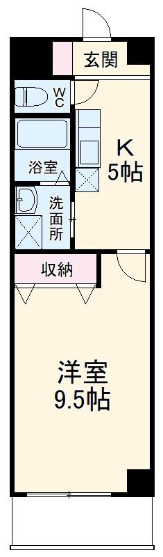 I's Villa Annex 303号室の間取り