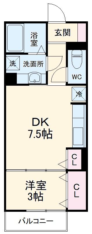 仮)D-room羽島郡岐南町上印食 205号室の間取り