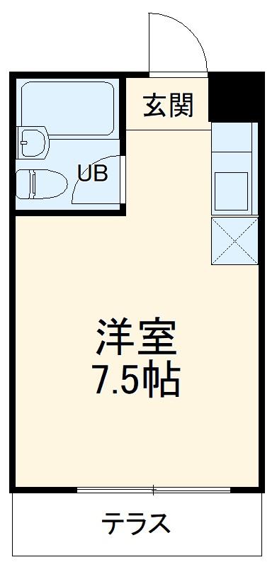 メゾンATB B105号室の間取り