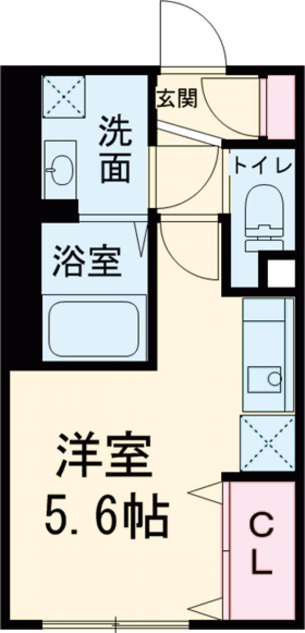NTPRレジデンス武蔵小山 403号室の間取り