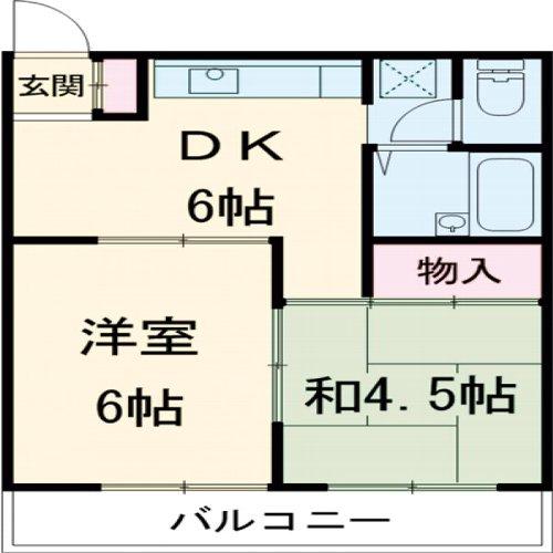 原第3マンション 107号室の間取り