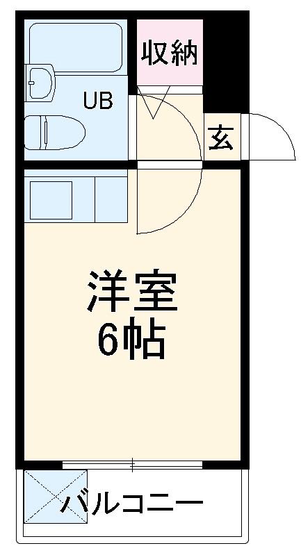 中央ビル西船 302号室の間取り