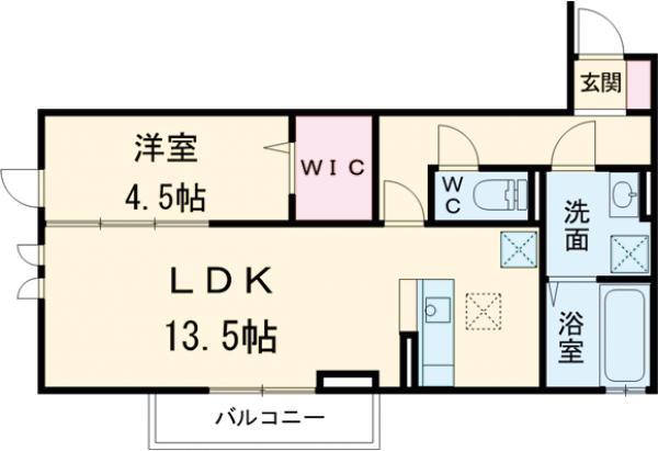 仮)D-room北方町 302号室の間取り