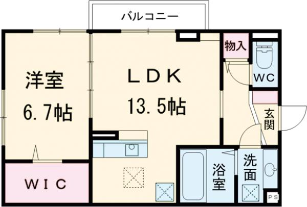 仮)D-room北方町 303号室の間取り