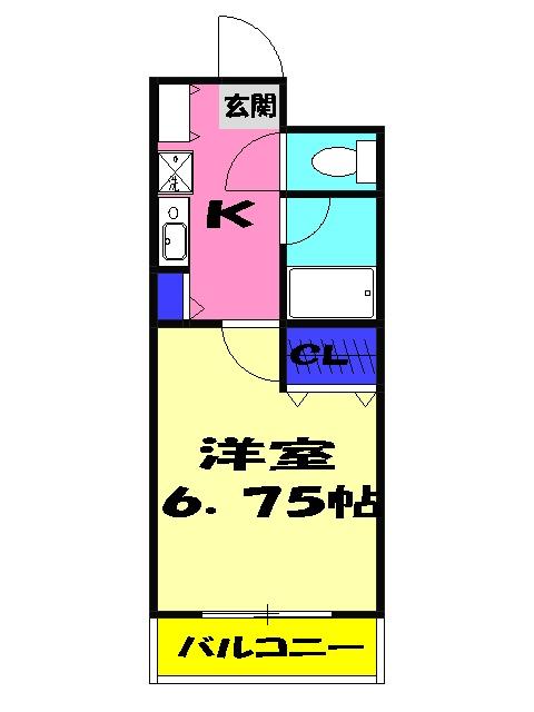 ゼファ・エス 309号室の間取り
