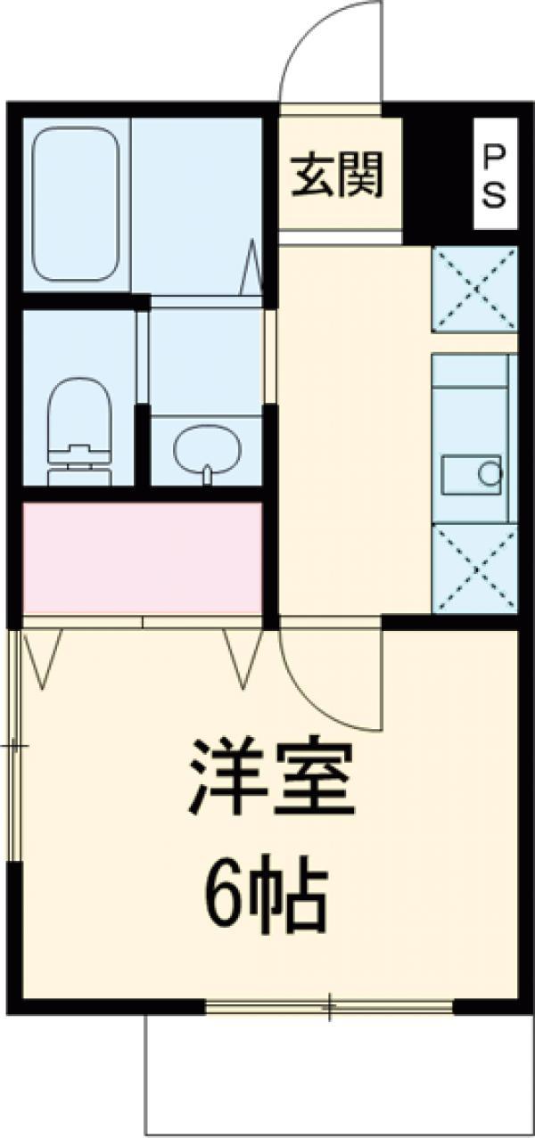 Viss津田沼 201号室の間取り