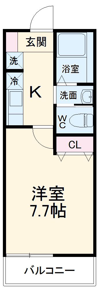 (仮称)キャメル東船橋Ⅱ 303号室の間取り
