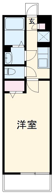 リブリ・TRIPOLISⅢ 203号室の間取り