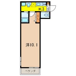 プレミール 103号室の間取り