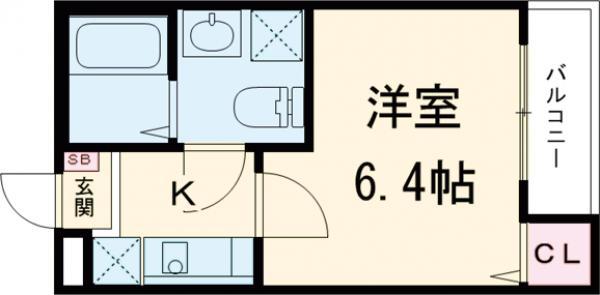 Watari 302号室の間取り