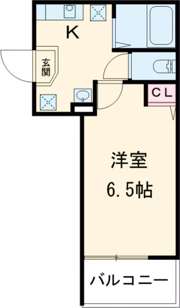 アークレス武蔵浦和 101号室の間取り