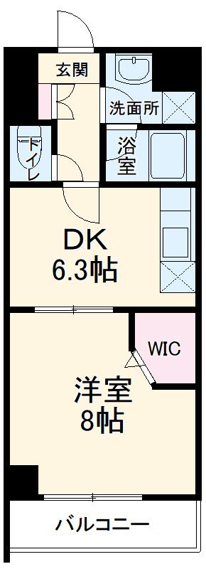 アーバンライフ松田 303号室の間取り
