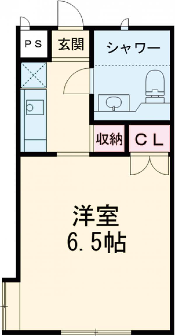 駒沢ハイツ 302号室の間取り