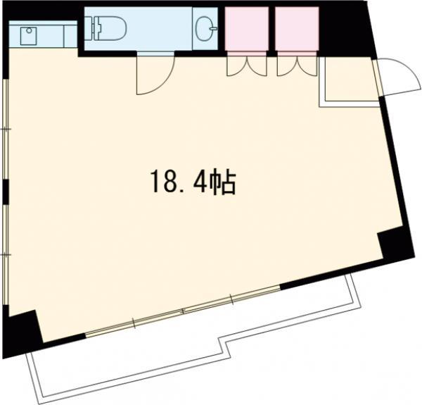 スカイビュー246 301号室の間取り