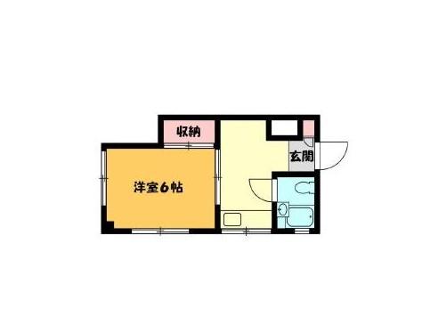 三田野沢コーポ 701号室の間取り
