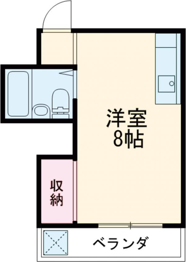 マンションメナハウス 1101号室の間取り