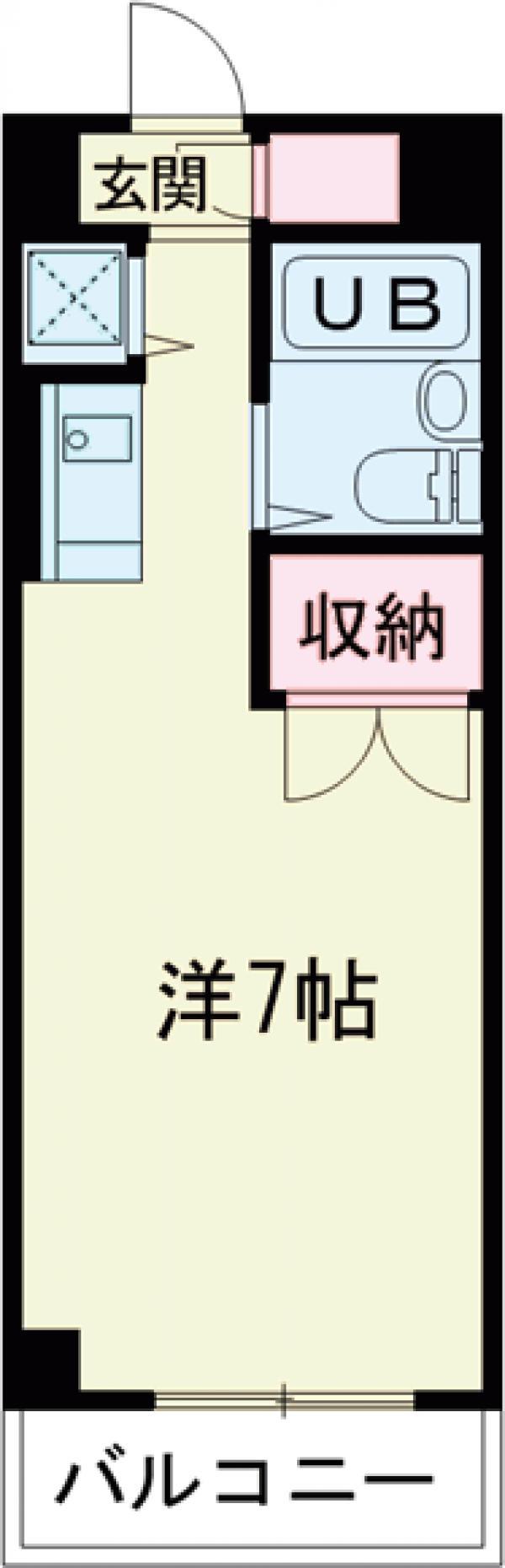 トポスM駒沢 303号室の間取り