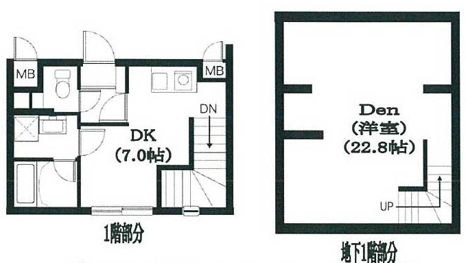 Residence Nakameguro 102号室の間取り