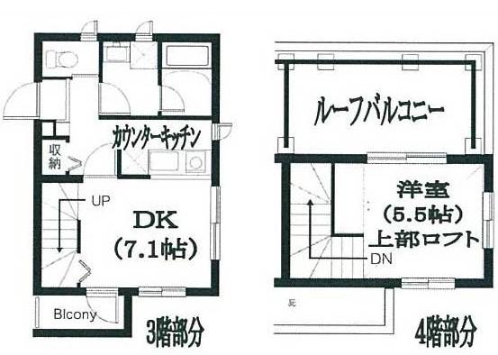 Residence Nakameguro 301号室の間取り