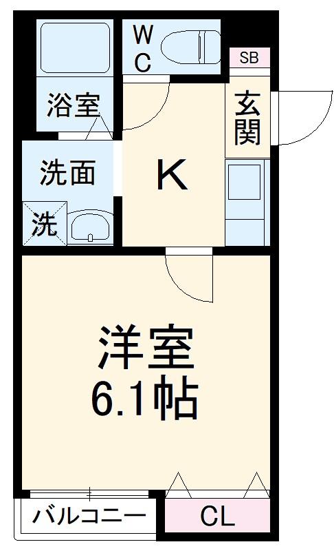レガーロ上尾愛宕Ⅱ 102号室の間取り