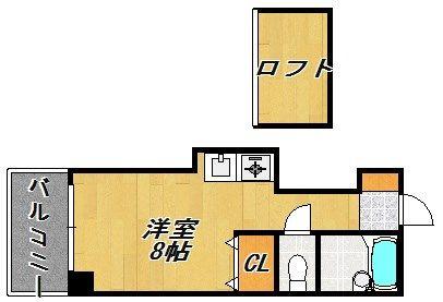 ヤマトビル2 301号室の間取り